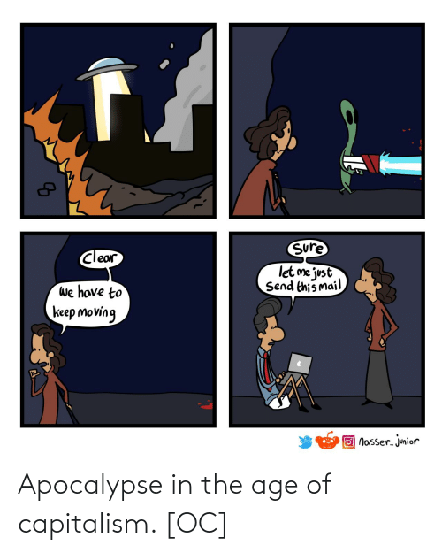Capitalism: Apocalypse in the age of capitalism. [OC]