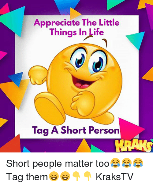 The Little Things Matter Most In Life: 25+ Best Memes About Short Person