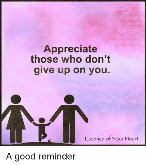 if people don't respect or appreciate you for your help ...  |Dont Appreciate Meme