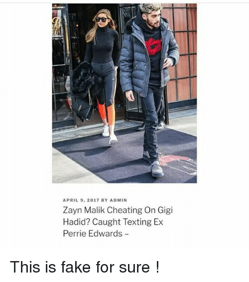 perrie edwards: APRIL 9. 2017 BY ADMIN  Zayn Malik Cheating On Gigi  Hadid? Caught Texting Ex  Perrie Edwards This is fake for sure !