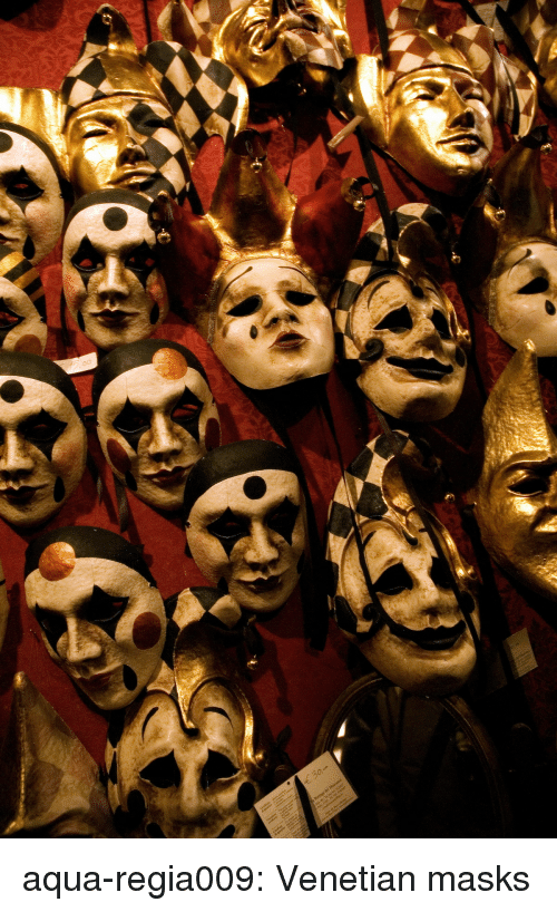 Tumblr, Blog, and Http: aqua-regia009:   Venetian masks