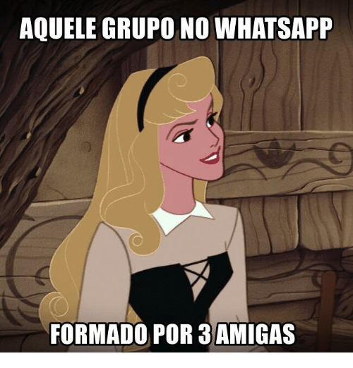Whatsapp, Pt-Br (Brazilian Portuguese), and International: AQUELE GRUPO NO WHATSAPP  FORMADO POR 3AMIGAS
