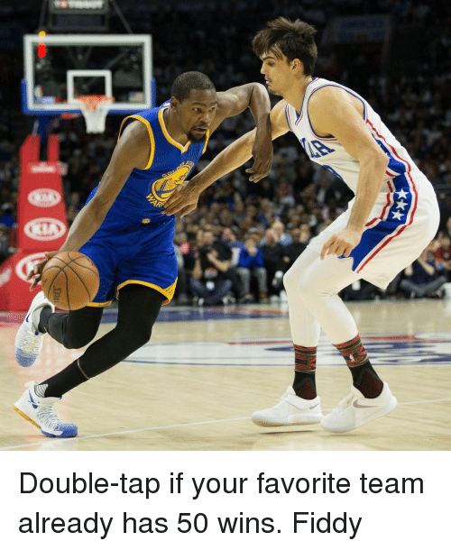 Basketball, Golden State Warriors, and Sports: AR Double-tap if your favorite team already has 50 wins. Fiddy