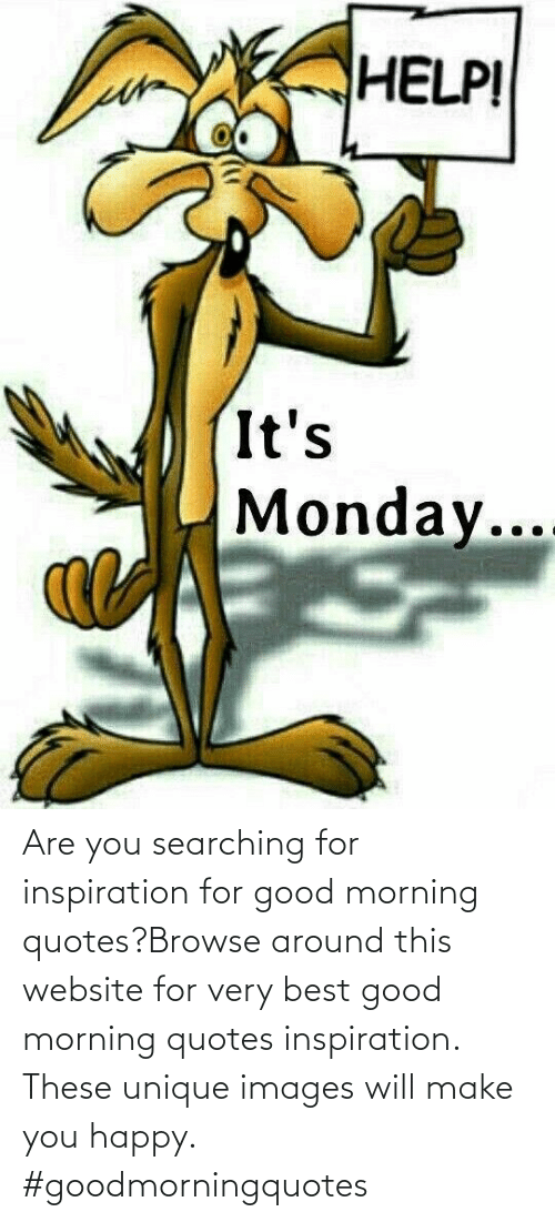Searching: Are you searching for inspiration for good morning quotes?Browse around this website for very best good morning quotes inspiration. These unique images will make you happy. #goodmorningquotes