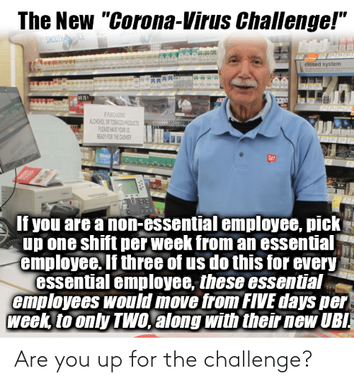 You Up: Are you up for the challenge?