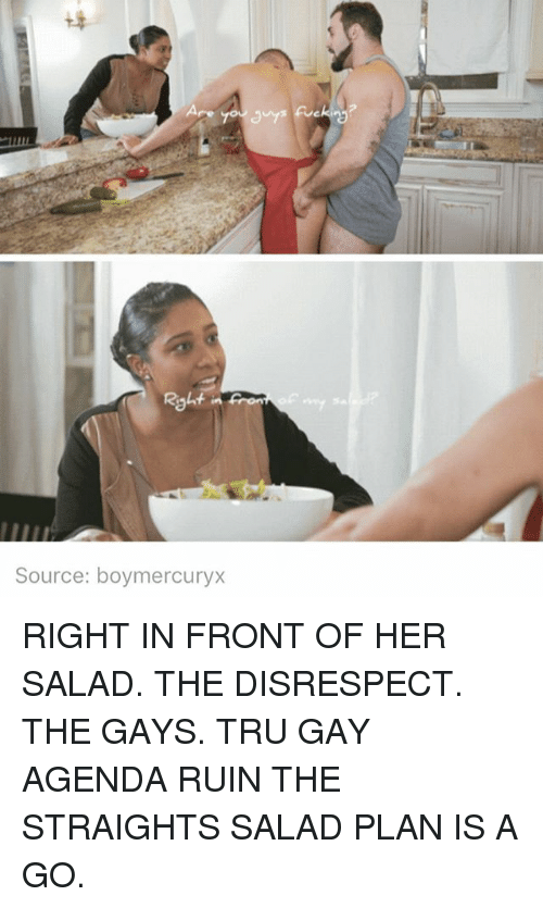 In Front Of My Salad Video