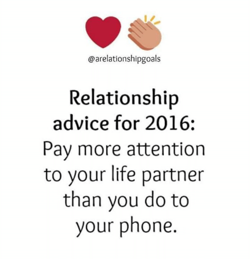 Relationship advice for 2016 pay more attention to your for Relationship advice for couples