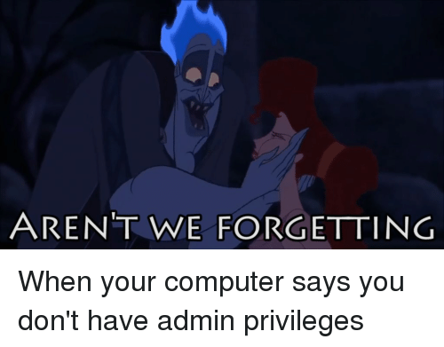Arent We Forgetting When Your Computer Says You Don 39 T Have