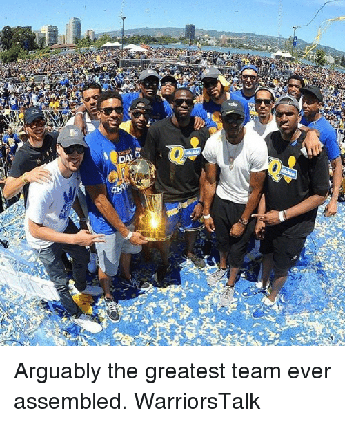 Basketball, Golden State Warriors, and Sports: Arguably the greatest team ever assembled. WarriorsTalk