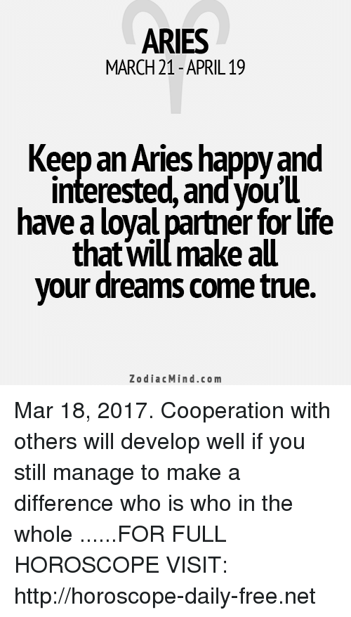 how to keep your aries man happy