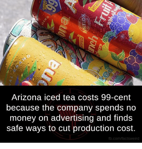 marketing and iced tea Arizona beverage co, maker of the wildly successful arizona iced tea,   snatching the ready-to-drink iced tea market from snapple and other.