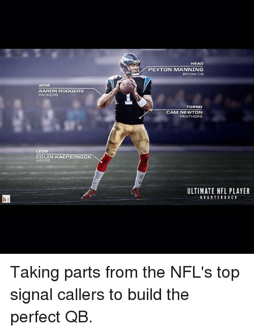 arm aaron rodgers packers legs colin kaepernick 49ers head peyton 2448756 🔥 25 best memes about colin kaepernick, nfl, and peyton manning,Cam Newton Colin Kaepernick Meme