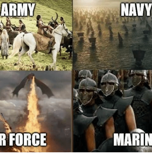 marinate: ARMY  R FORCE  NAVY  MARIN
