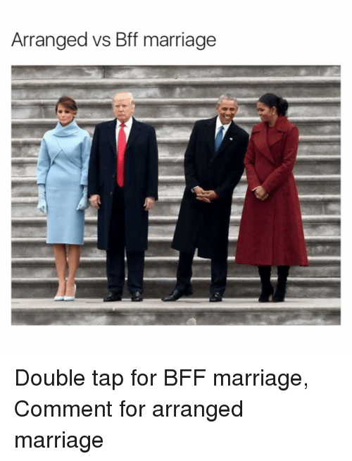 Arranged Marriage: Arranged vs Bff marriage Double tap for BFF marriage, Comment for arranged marriage