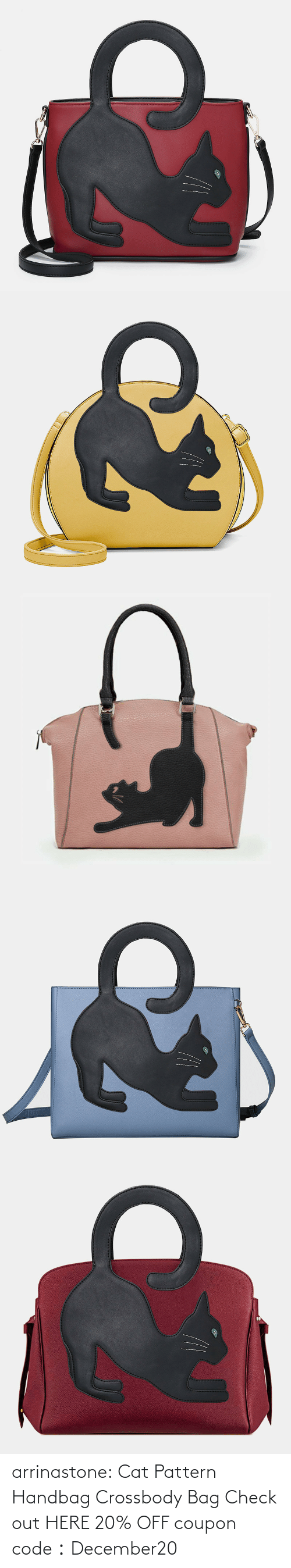 bit.ly: arrinastone: Cat Pattern Handbag Crossbody Bag Check out HERE 20% OFF coupon code:December20