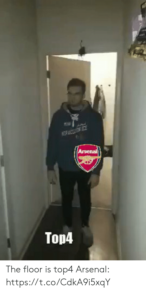 The Floor Is: Arsenal  Top4 The floor is top4  Arsenal: https://t.co/CdkA9i5xqY