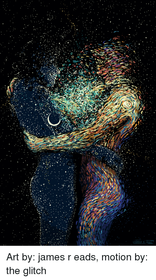 old friends: Art by: james r eads, motion by: the glitch