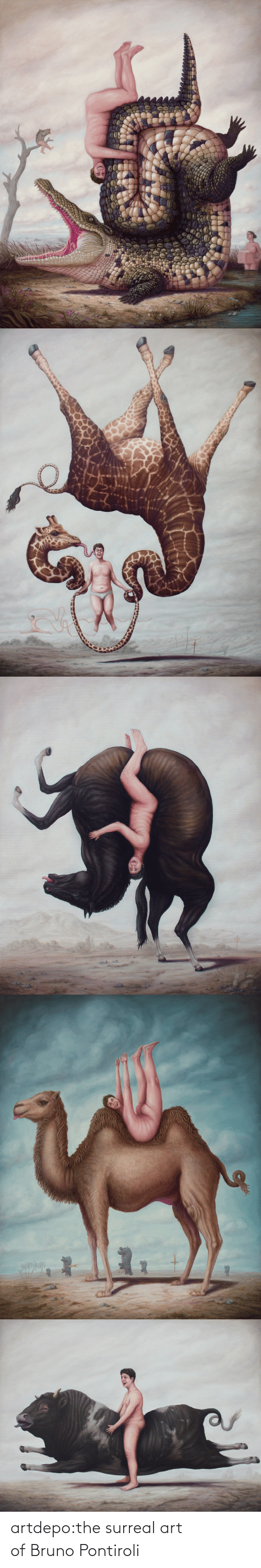 surreal: artdepo:the surreal art of Bruno Pontiroli