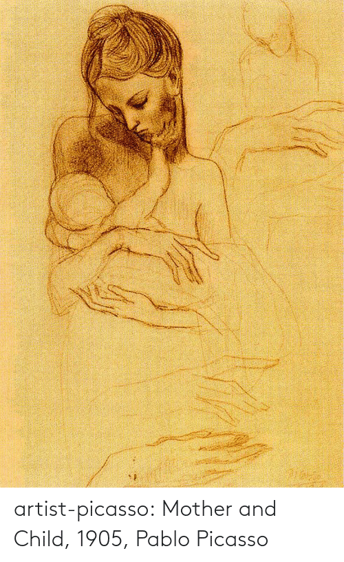 pablo: artist-picasso:  Mother and Child, 1905, Pablo Picasso