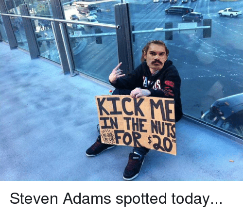 Steven Adams, Today, and Nuts: as  THE NUTS Steven Adams spotted today...