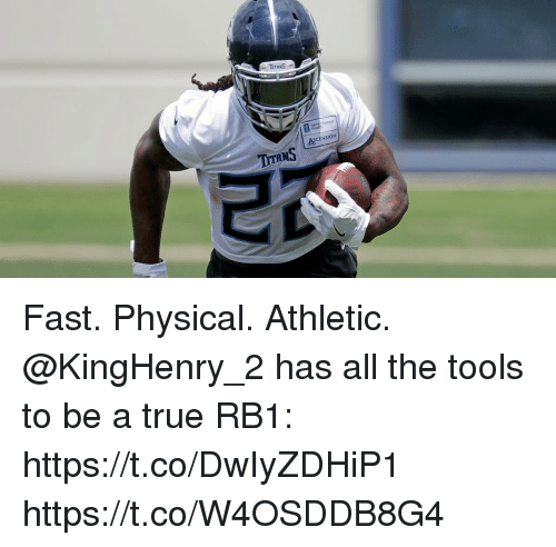 Memes, True, and Physical: ASCENSION Fast. Physical. Athletic.  @KingHenry_2 has all the tools to be a true RB1: https://t.co/DwIyZDHiP1 https://t.co/W4OSDDB8G4