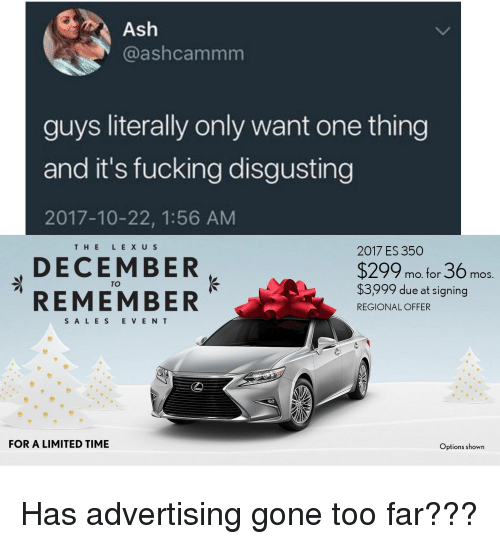 advertisers gone too far