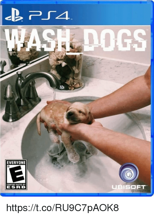 esrb: ASH DOGS  EVERYONE  CONTENT RATED BY  ESRB  UBISOFT https://t.co/RU9C7pAOK8