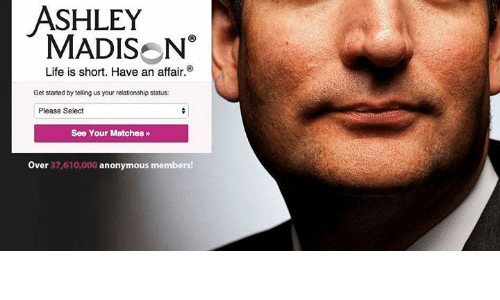 ashley madison life short affair