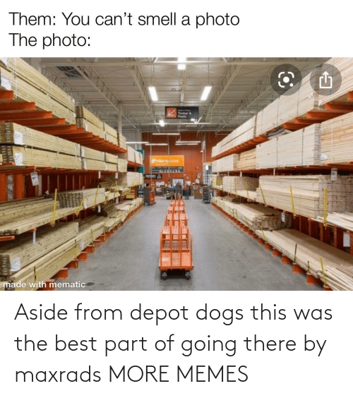 Dogs: Aside from depot dogs this was the best part of going there by maxrads MORE MEMES