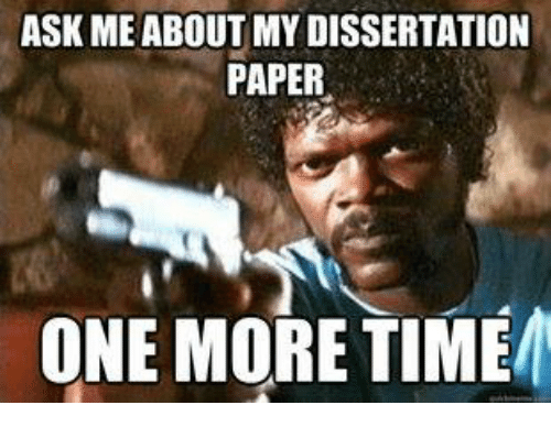About my dissertation