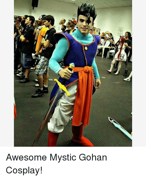 Awesomness: at Awesome Mystic Gohan Cosplay!