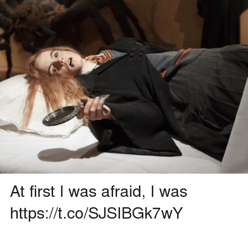 Memes, 🤖, and First: At first I was afraid,   I was https://t.co/SJSIBGk7wY