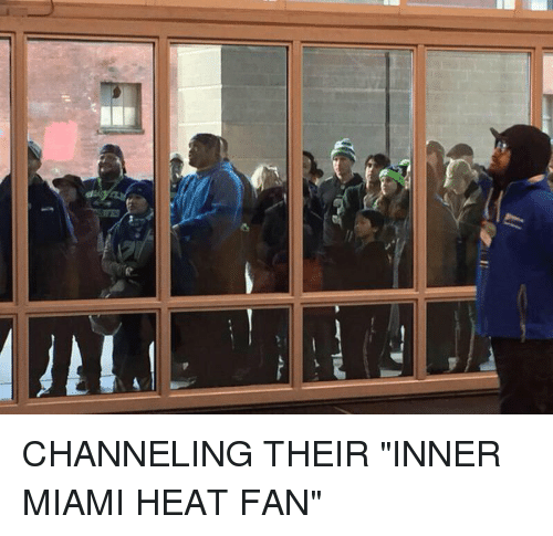 "Miami Heat, Heat, and Hood: ATL- CHANNELING THEIR ""INNER MIAMI HEAT FAN"""