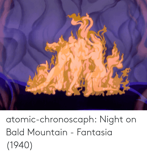 fantasia: atomic-chronoscaph:  Night on Bald Mountain - Fantasia (1940)