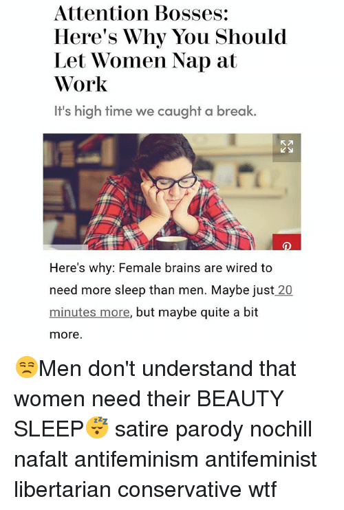 Attention Bosses Heres Why You Should Let Women Nap At Work Its High -2830