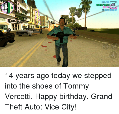 atti i 14 years ago today we stepped into the 10971503 🔥 25 best memes about grand theft auto vice city grand theft