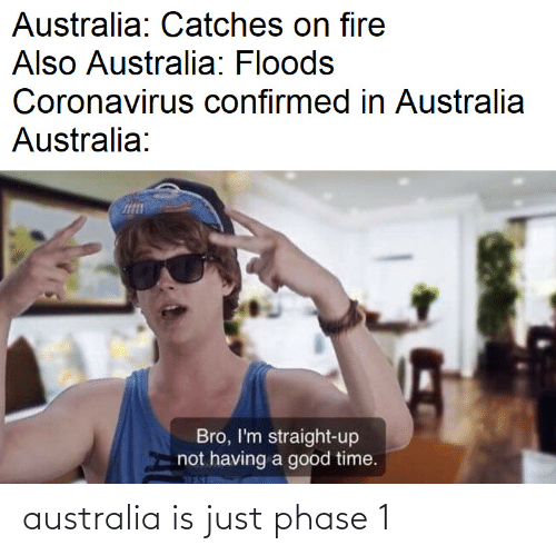 Australia: australia is just phase 1