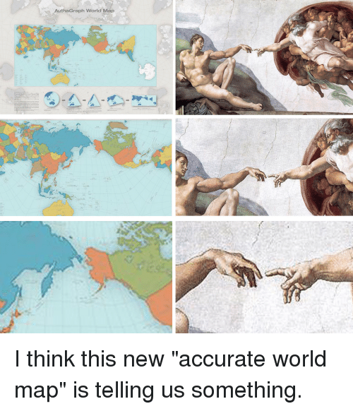 Funny Maps And World Authagraph World Map I Think This New Accurate