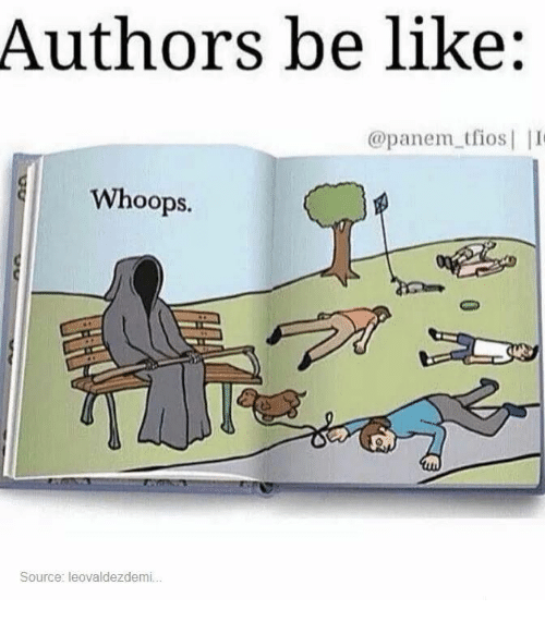 panem: Authors be like:  @panem tfios  Whoops.  Source: leovaldezdemi...