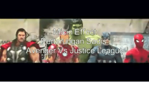 Justice and Indonesian (Language): AvengerVs Justice Leaqu