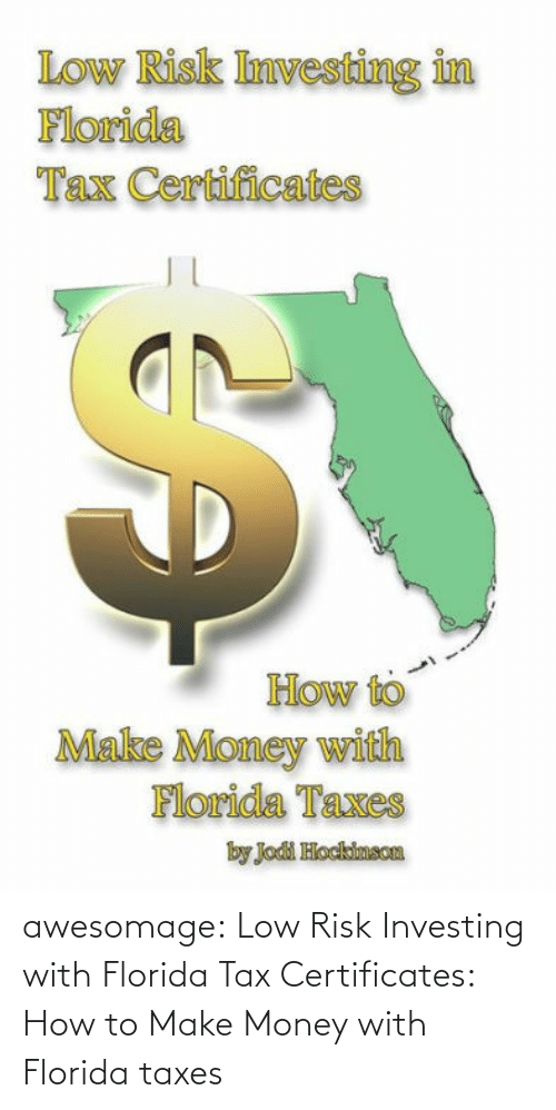 Taxes: awesomage:  Low Risk Investing with Florida Tax Certificates: How to Make Money with Florida taxes