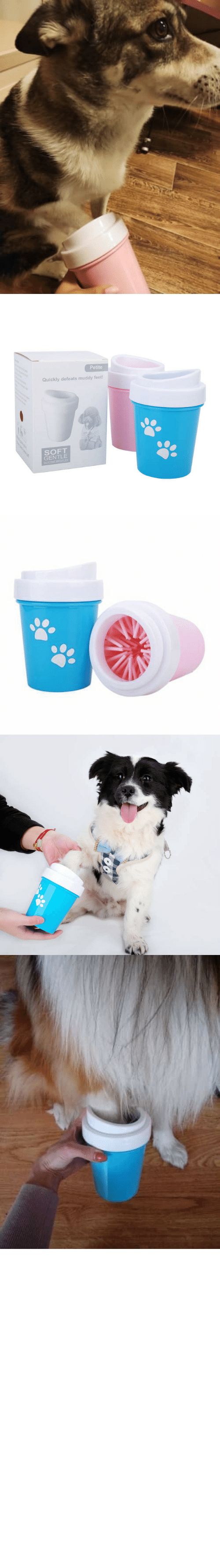 "Dirty: awesomage:   PAW CLEANER     Now your best friend can have all the muddy dirty fun he wants without bringing it all into your home or vehicle.    30% OFF plus Free Worldwide Shipping with coupon code ""CUDDLING""    All funds gathered will be donated for rescue dog shelters    SUPPORTS US NOW, ORDER AND SHARE OUR CAUSE!https://www.doggiemon.com/products/paw-cleaner"