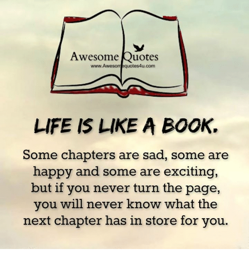 Awesome Quotes Www-Awesome Quotes4ucom LIFE IS LIKE A BOOK