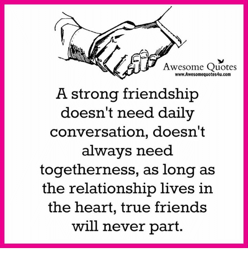 Quotes About People Who Notice: Awesome Quotes WwwAwesomequotes4ucom A Stronq Friendship