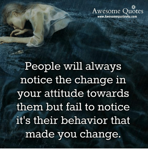 Change Your Attitude Quotes: Awesome Quotes WwwAwesomequotes4ucom People Will Always