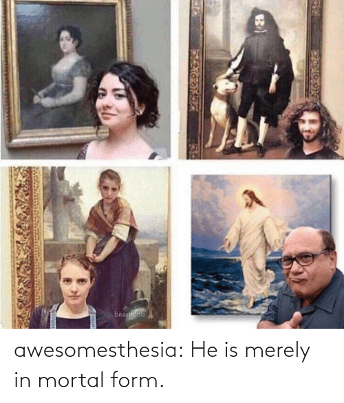mortal: awesomesthesia:  He is merely in mortal form.