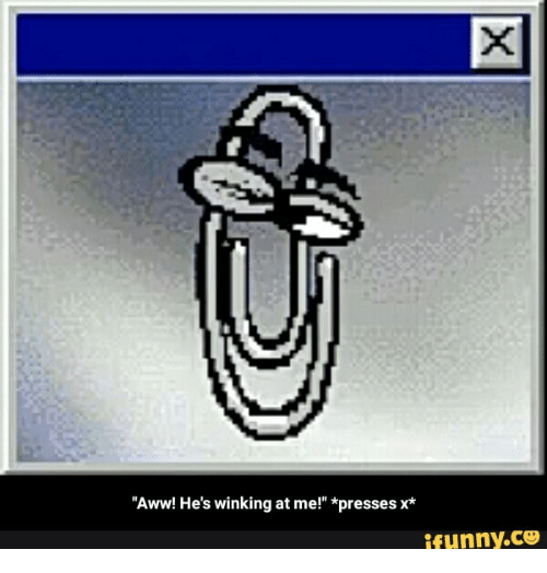 """Aww, Ifunny, and Hes: Aww! He's winking at me!"""" presses x*  ifunny.CO"""