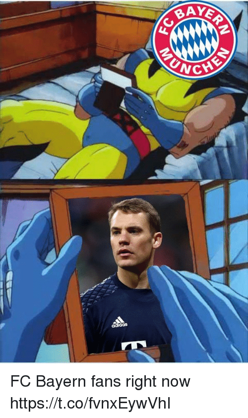 unc: AYER  UNC  CHE FC Bayern fans right now https://t.co/fvnxEywVhI