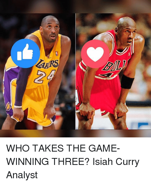 Memes, The Game, and 🤖: ayRS  LARS  8)ル WHO TAKES THE GAME-WINNING THREE?   Isiah Curry Analyst
