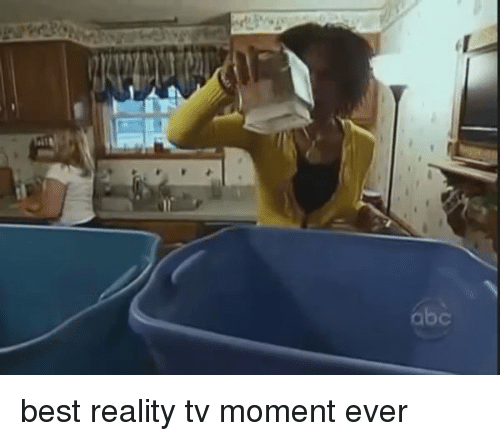 Funny: b best reality tv moment ever
